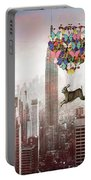 Nyc Hare Day Portable Battery Charger