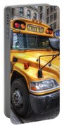 Nyc School Bus Portable Battery Charger