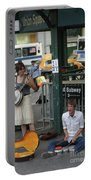 Nyc Street Musicians Banjo Portable Battery Charger