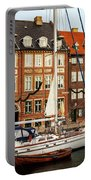 Nyhavn Area Of Copenhagen Portable Battery Charger