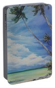 Nylon Pool Tobago. Portable Battery Charger by Karin  Dawn Kelshall- Best