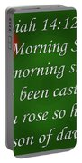 O Morning Star Portable Battery Charger