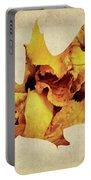 Oak Leaf Portable Battery Charger