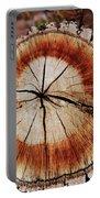 Oak Stump Portable Battery Charger