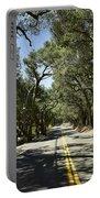Oak Trees Along Live Oak Canyon Road Portable Battery Charger