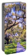 Oaks And Spanish Moss Portable Battery Charger