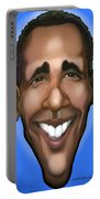 Obama Caricature Portable Battery Charger