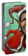 Obama Christmas Portable Battery Charger