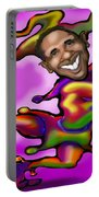 Obama Jester Portable Battery Charger
