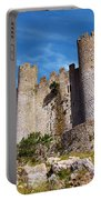 Obidos Castle Portable Battery Charger by Carlos Caetano