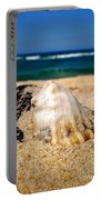 Ocean Beyond A Shell Portable Battery Charger