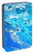 Ocean Blue -tac Portable Battery Charger