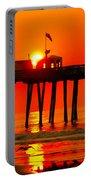 Ocean City Sunrise Portable Battery Charger