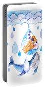 Ocean Girl Portable Battery Charger