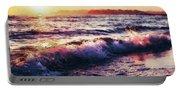 Ocean Landscape Sunrise Portable Battery Charger