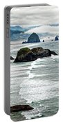 Ocean Rocks Off The Oregon Coast Portable Battery Charger