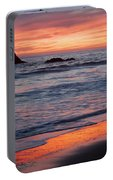 Ocean Sky Awash In Color Portable Battery Charger
