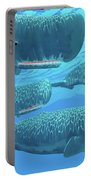 Ocean Sperm Whales Portable Battery Charger