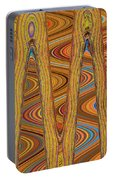 Oceanside Surfer Abstract. Portable Battery Charger