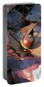 October Acorn Portable Battery Charger