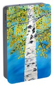October Birch Portable Battery Charger