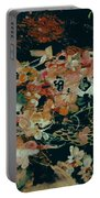 October Flowers By Night Portable Battery Charger