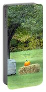 October In Maine Portable Battery Charger