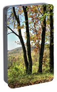 October In Vermont Portable Battery Charger