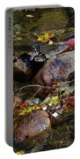 October Puddles Portable Battery Charger