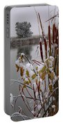 October Snow Portable Battery Charger