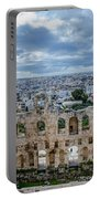 Odeon Of Herodes Atticus - Athens Greece Portable Battery Charger
