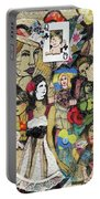 Of Babes And Butterflies Portable Battery Charger