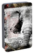 Of Elephants And Men Portable Battery Charger