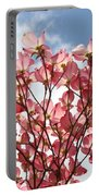 Office Art Prints Blue Sky Pink Dogwood Flowering 7 Giclee Prints Baslee Troutman Portable Battery Charger