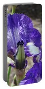 Office Art Prints Irises Flowers 46 Iris Flower Giclee Prints Baslee Troutman Portable Battery Charger