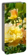 Office Art Rose Garden Giclee Prints Roses Baslee Troutman Portable Battery Charger