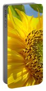 Office Art Sunflowers Giclee Art Prints Sun Flowers Baslee Troutman Portable Battery Charger