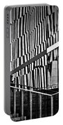 Office Buildings Reflections Portable Battery Charger