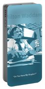 Office Space Milton Waddams Movie Quote Poster Series 003 Portable Battery Charger
