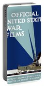 Official United States War Films Portable Battery Charger by War Is Hell Store