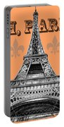 Oh Paris Eiffel Tower Portable Battery Charger