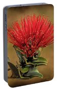 Ohia Lehua Flower Volcanos National Park Portable Battery Charger