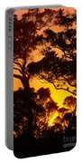 Ohia Trees At Sunset Portable Battery Charger