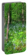 Ohio Wildflowers In Spring Portable Battery Charger