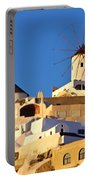 Oia Windmill Portable Battery Charger