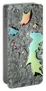 Oil Abstract Portable Battery Charger