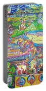Oil On Sharpie Surrealistically Portable Battery Charger