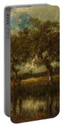 Oil Painting Landscape Portable Battery Charger