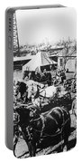 Oil: Texas, 1920 Portable Battery Charger