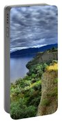 Okanagan Lake On A Thursday Portable Battery Charger